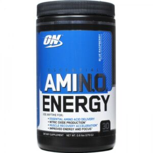 OPTIMUM NUTRITION ESSENTIAL AMINO ENERGY – BLUE RASPBERRY 30 SERVINGS