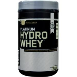 OPTIMUM NUTRITION PLATINUM HYDROWHEY – VELOCITY VANILLA 1.75 LBS