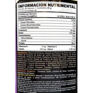 OPTIMUM NUTRITION PRO COMPLEX – CREAMY VANILLA 3.31 LBS