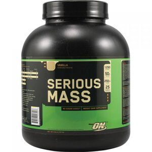 OPTIMUM NUTRITION SERIOUS MASS – BANANA 6 LBS