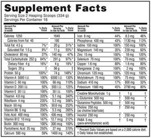 OPTIMUM NUTRITION SERIOUS MASS – CHOCOLATE 12 LBS