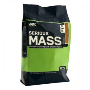 OPTIMUM NUTRITION SERIOUS MASS – CHOCOLATE PEANUT BUTTER 12 LBS