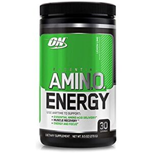 OPTIMUM NUTRITION ESSENTIAL AMINO ENERGY – LEMON LIME 30 SERVINGS