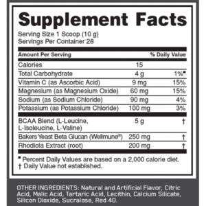 OPTIMUM NUTRITION GOLD STANDARD BCAA – CRANBERRY LEMONADE