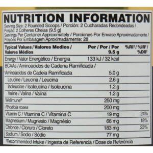 OPTIMUM NUTRITION GOLD STANDARD BCAA – STRAWBERRY KIWI