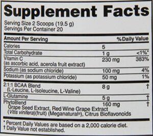 OPTIMUM NUTRITION PRO SERIES PRO BCAA – PEACH MANGO