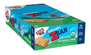 CLIF BAR KID ORGANIC ZBAR – ICED OATMEAL COOKIES