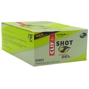 CLIF BAR SHOT ENERGY GEL – CITRUS