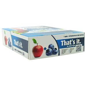 THAT'S IT BAR – APPLE   BLUEBERRY
