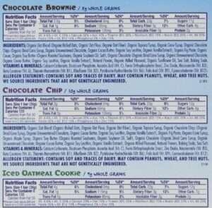 CLIF BAR KID ORGANIC ZBAR – CHOCOLATE BROWNIE