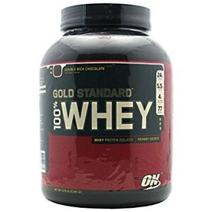 OPTIMUM NUTRITION GOLD STANDARD 100% WHEY – DOUBLE RICH CHOCOLATE 5 LBS