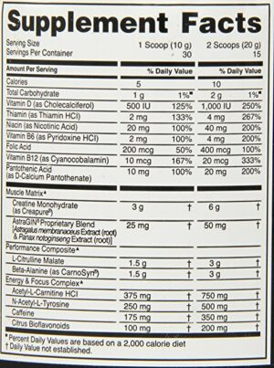 OPTIMUM NUTRITION GOLD STANDARD PRE-WORKOUT – FRUIT PUNCH 30 EA