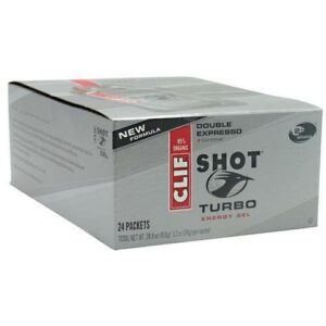 SHOT TURBO ENERGY GEL – DOUBLE EXPRESSO