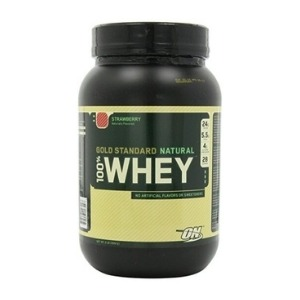 GOLD STANDARD NATURAL 100% WHEY – STRAWBERRY 5 LBS