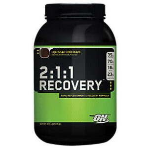 OPTIMUM NUTRITION 2:1:1 RECOVERY – COLOSSAL CHOCOLATE