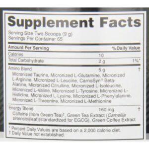OPTIMUM NUTRITION ESSENTIAL AMINO ENERGY – FRUIT FUSION 65 SERVINGS