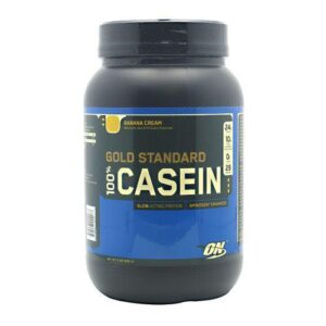 OPTIMUM NUTRITION GOLD STANDARD 100% CASEIN – BANANA CREAM 2 LB